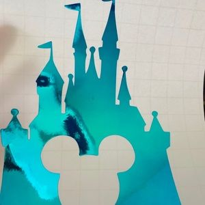 Disney inspired castle decal for tumbler
